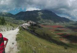 Monti Sibillini. Escursione con al joëlette - CAI Sez. Terni e Ass. Stefano Zavka (Umbria)
