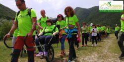 Montagna senza barriere in Val Fondillo - ASD Majella Sporting Team, Parco Nazionale d'Abruzzo Lazio e Molise, Anffas Subiaco e Castel di Sangro (Abruzzo)