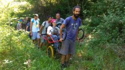 L'Alberata di San Gregorio da Sassola e i Monti Prenestini senza barriere - Ass. Aefula e Ass. Il Cammino Possibile (Lazio)