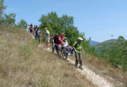 I sentieri natura Canapine e Colle Pescara - Riserva Naturale Sorgenti del Pescara e Ass. Cammino Possibile