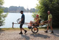 Lungo il Lago di Bertignano tra vigneti e suggestivi panorami - Ti aiuto io onlus