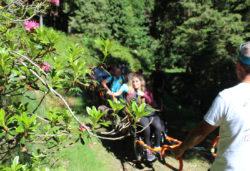 Percorso natura senza barriere sulla Panoramica Zegna - Ti aiuto io onlus (Piemonte)